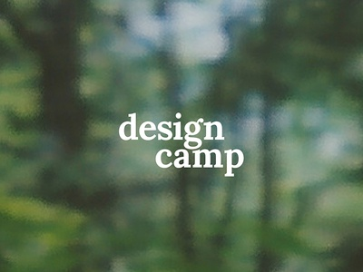 Design camp camping trees photo instax lockup forest type camp mn design