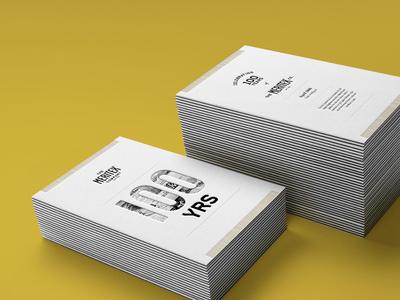 Meritex Invite gold design event invitation invite letterpress