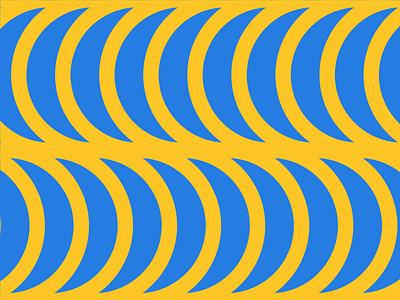 Banana Pattern bananas shape color pattern