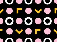 Yellow/Pink Pattern No. 1