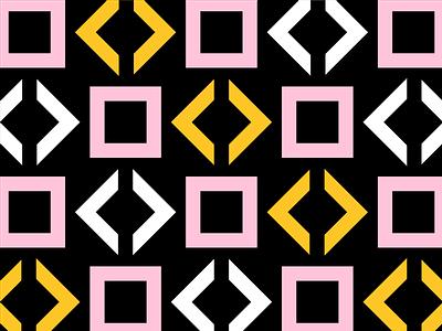 Yellow/Pink Pattern No. 3