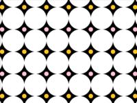 Yellow/Pink Pattern No. 4