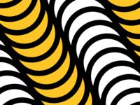 Yellow/Pink Pattern No. 7