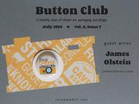 Button Club vol. 6, issue#7 feat. James Olstein
