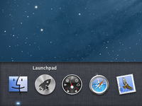 Mountain Lion Dock Concept