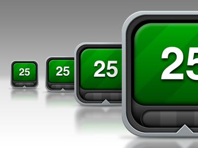 Phocus Icon iphone app icon green