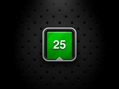 Phocus Icon Updated iphone app icon green