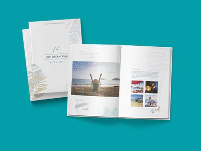 Villa Booklet graphic design book design layout design book design