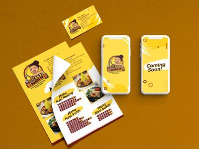 Restaurant menu & social media campaign
