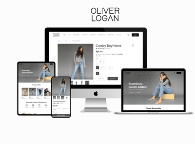 Shopify e-commerce website and mobile app