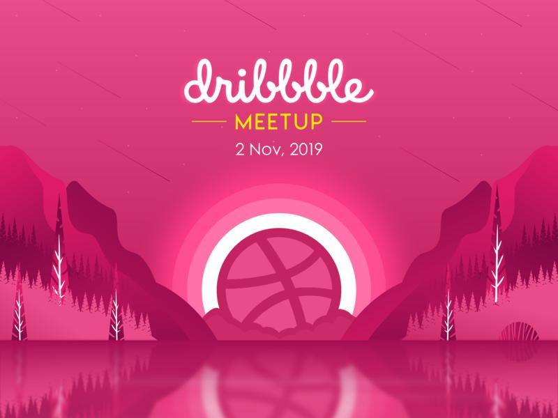 Meetup web ux illustration ui vector design