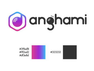 Anghami Logo Rebrand vector typography poster photoshop merch marketing logodesign illustrator graphicdesign graphics graphic digitalart designinspiration designer creative artwork adobedesign     artist