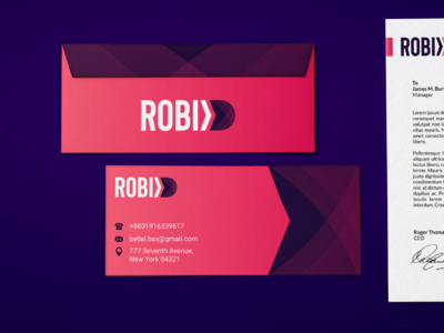 Robix Logo Design photoshop logo inspiration illustrator identity graphic-design creative branding behance adobe