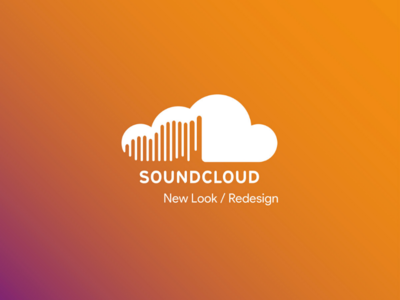 SoundCloud Logo Newlook photoshop logo inspiration illustrator identity graphic-design creative branding behance adobe