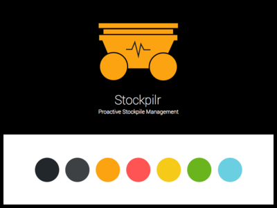 Branding for Stockpilr - Coal Stockpile Management App
