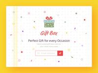 Gift Box - Landing Page