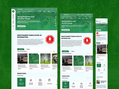 Responsive web design ui ux branding flat minimal design app