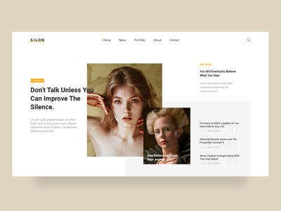 Silon Blog Website