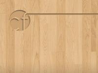 Wood Header with Logo