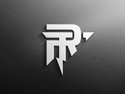 RT initial logo design icon adobe illustrator logo branding typography graphic design design