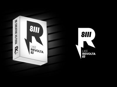 R83 - Revolta83, personal logo.