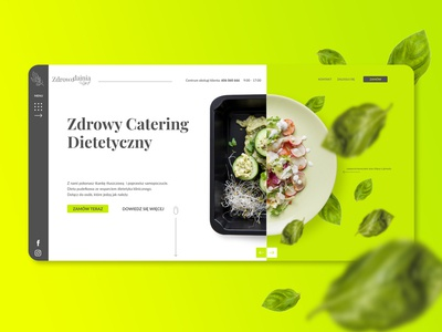 Dietetic catering website project