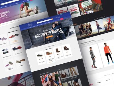Shoebuy Ecommerce Website Design Development