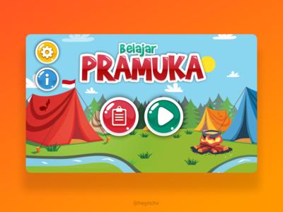 Belajar Pramuka Game UI