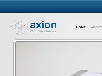 Axion brochure website design tom tamera matt