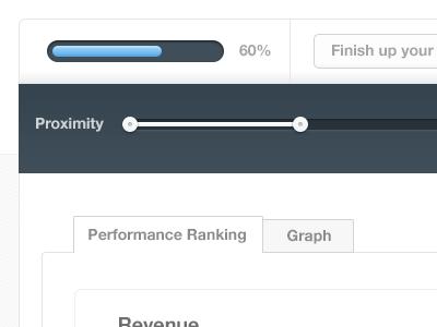 Dashboard functions zander app design interface function