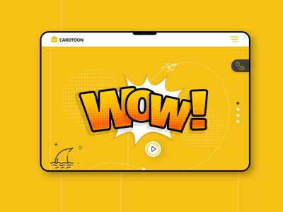 Cradtoon - Augmented Reality Website branding illustration interfacedesign freelance design uiux pandacraft augmentedreality website