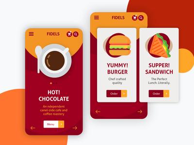 Tea Shop - Mobile Application