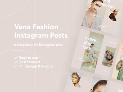 Vana Fashion Instagram Pack