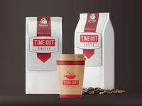 Coffee Bag Packaging Mockup Free PSD