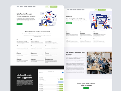 Landing Pages web design landing page ui branding layout clean homepage product web
