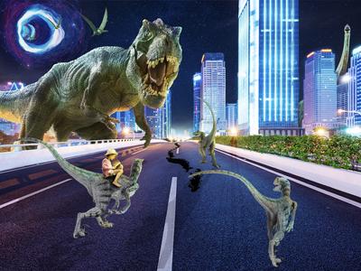 A Dinosaur Fairytale