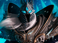 World of Warcraft Fanart: The Lich King