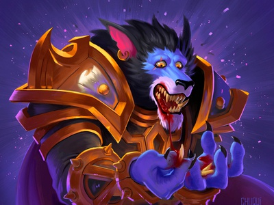 Hearthstone The Witchwood Fan Art Card