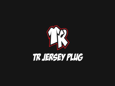 TR JERSEY PLUG | CUSTOM SHIRT/JERSEY LETTER LOGO DESIGN