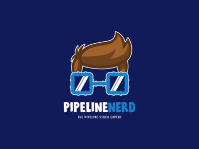 Pipeline Nerd Custom Logo Design