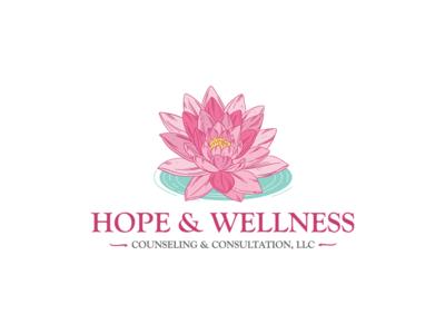 Hope & Wellness Counseling & Consultation Logo Design
