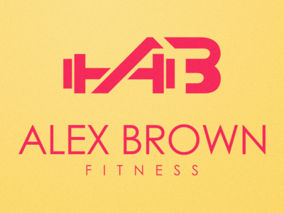 ABF - ALEX BROWN FITNESS CUSTOM LOGO & BRANDING DESIGN