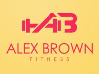 ABF - ALEX BROWN FITNESS CUSTOM LOGO & BRANDING DESIGN