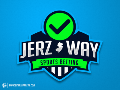 NEW JERSEY SPORTS BETTING MASCOT LOGO