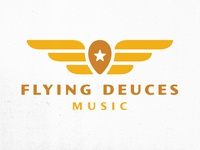 Flying Deuces Music logo refresh