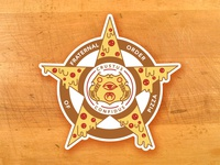 Fraternal Order of Pizza badge