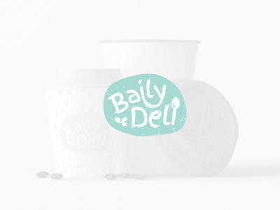 Baily Deli Contest Brand Design app minimal branding ux uiux ui web design web food illustration food and drink food app horeca eat supper dinner lunch breakfast food