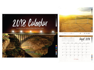 Capture the Magic Valley Calendar