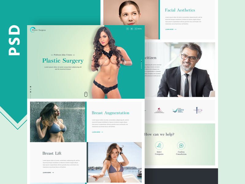 Sugery website Mockup psd design web app ui web landing page website psd design homepage banner header design