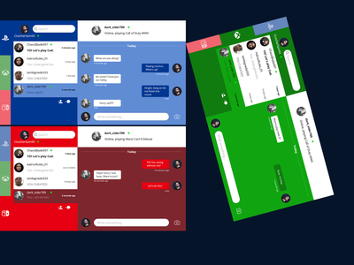 Daily UI #13 Chat Box